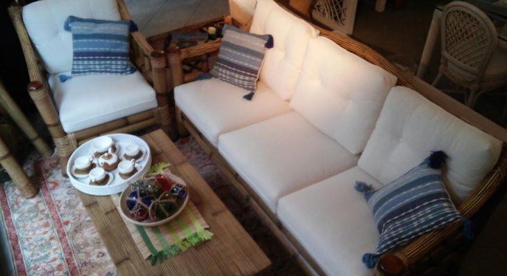 Salotto In Bamboo.Salotto In Bamboo Casa Del Giunco